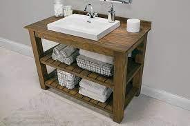 13 Diy Bathroom Vanity Plans You Ll Love Unique Bathroom Vanity Rustic Bathroom Vanities Custom Bathroom Vanity