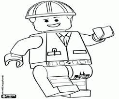 Kleurplaten De Lego Film Kleurplaat