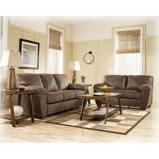 Ashley Furniture Amazon Walnut Living Room Loveseat