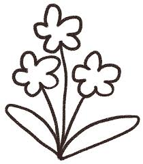 すみれのイラスト花 ゆるかわいい無料イラスト素材集