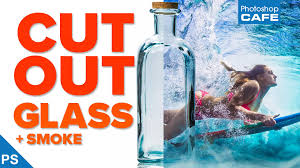 How to cut out Glass, Smoke + Water in Photoshop - PhotoshopCAFE