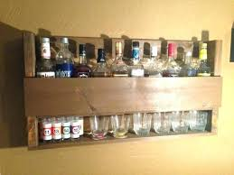 pallet liquor rack. Liquor Bottle Shelves Pallet Rack Rustic Whiskey Shelf By . Bar G