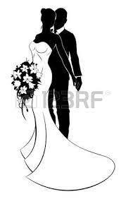 Wir machen es ihnen einfach und stellen ihnen in dieser anleitung kostenlose vorlagen zum ausdrucken zur verfügung. Bildergebnis Fur Brautpaar Gezeichnet Wedding Silhouette White Bridal Dresses Silhouette Art