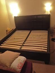 Milan Bedroom Furniture John Lewis Milan Bed Frame Super King Size Chocolate Brown Faux