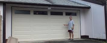 wayne dalton garage doorA Wayne Dalton Model 9100 garage door offers safety beauty and