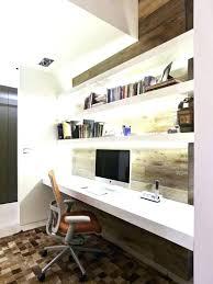 diy floating desk diy home. Floating Desk Diy Office Cool Home Design Intended L