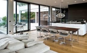 Modern wood floor designs Contemporary Interior Design Ideas Beautiful Wood Flooring