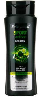 <b>Шампунь для волос</b> Belle Jardin <b>Гель</b>-<b>Шампунь</b> Active Care Sport ...