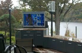 outdoor tv enclosure impressive on outdoor patio ideas outdoor enclosure ideas take the entertainment outdoor tv outdoor tv enclosure