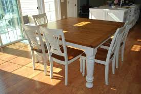 farmhouse table seats 8 marvelous square kitchen table seats 8 catchy home interior designing with stains
