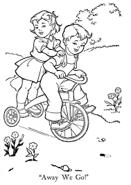 Vintage Coloring Pages 47 With Vintage Coloring Pages