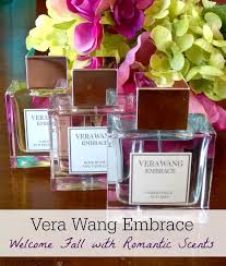 embrace vera wang. vera wang embrace: welcome fall with romantic scents embrace