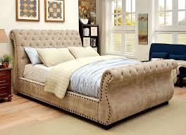 upholstered sleigh beds. Upholstered Sleigh Beds I