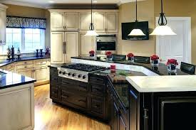 kitchen island with stove ideas. Kitchen Island With Stove Fanciful Majestic P L Shaped . Ideas