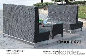 aluminium brushed outdoor furniture bar
