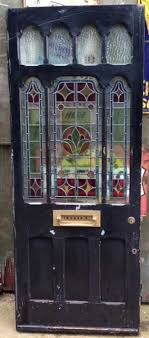 stained glass victorian edwardian front door
