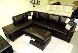 black leather sectional with ottoman leather sectional sofa rectangle black storage ottoman coffee table oversized also chaise combined together beliani