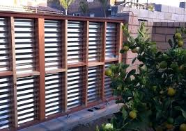 Corrugated Metal Fence Diy Red Hook Corrugated Metal Fence Diy
