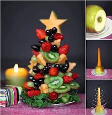 fruit christmas tree. Wonderful Christmas Fruit Christmas Tree  Awesome Thing To Try At Home On This To C