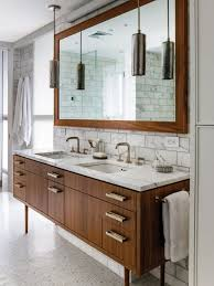 create sample impression with bathroom vanity wall mirrors