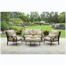 astounding design better homes and gardens patio furniture clayton court 5 piece dining set red seats