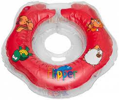 <b>Круг для купания</b> на шею <b>Roxy</b>-<b>kids</b> Flipper до 2 лет в ассортименте