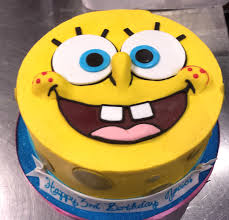 Spongebob Cake Childrens Cake In 2019 Birthday Cake Cake