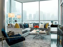 gold coast pied à terre contemporary living room chicago by brynn olson design group llc