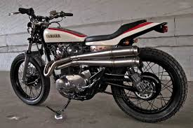 drogos yamaha xs650 flat tracker moto rivista