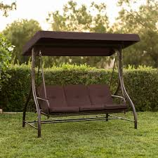Converting Outdoor Swing Canopy Hammock Seats 3 Patio Deck Furniture
