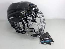 Bauer 5100 Senior Hockey Helmet Combo W Profile Ii Facecage