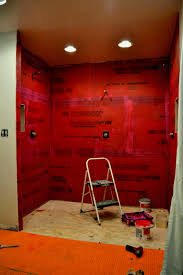 shower walls schluter systems waterproof paint wall panels canada