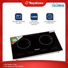 Bếp Âm Từ Đôi Nagakawa NAG1201 (73 cm) - Hàng Chính Hãng - Bếp điện từ đôi