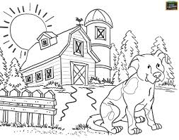 Free Teaching Tool Printable Agricultural Coloring