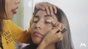 maquillaje glam para piel morena