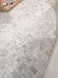Mosaic Bathroom Floor Tile Bathroom Wall Tile Hampton Polished Arabesque Marble Mosaic Tile