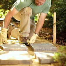 Small Picture How to Build a Paver Garden Path Home Improvement Blog