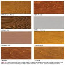 Furniture Stain Colors Chart Wood Stain Samples In 2019 Outdoor Wood Stain Deck Stain