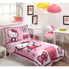 hello kitty bedroom furniture. Hello Kitty Sweetheart 4 Piece Toddler Bedding Set Bedroom Furniture H