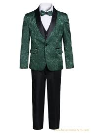 Patterned Tuxedo New King Formal Wear Boys Premium Paisley Patterned Shawl Lapel Tuxedos
