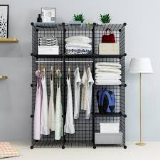 unicoo multi use diy cube wire grid organizer the uses metal closet organizers bookcase design your