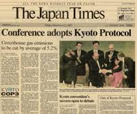 a summary of the kyoto protocol delegates celebrated adoption of the protocol in 1997