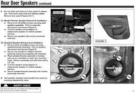 guide replacing door speakers in 08 wrx impreza spacers figure 7 on the front door diagrams shows the rear door no big deal
