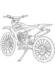 Moto Cross Da Colorare Ktm Idea Di Immagine Del Motociclo