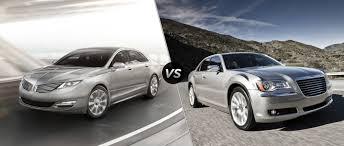 Lincoln MKZ vs 2013 Chrysler 300