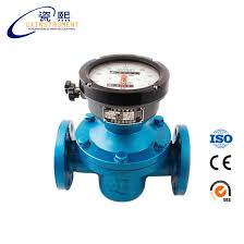 digital fuel oval gear flow meter for garden hose