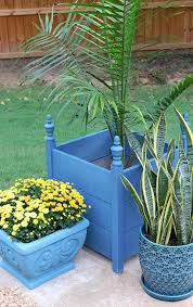 how to paint planters with chalk paint by annie sloan