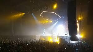 Uic Concert Seating Chart Odesza Live Across The Room Ft Leon Bridges Uic Pavilion Chicago