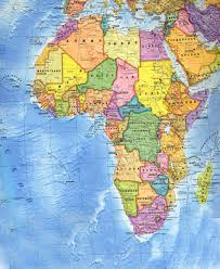 Страны Африки Политическая карта Африки