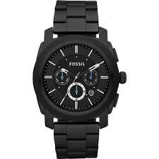 fossil men s pr5404 chronograph black dial black stainless steel fossil men s pr5404 chronograph black dial black stainless steel bracelet watch